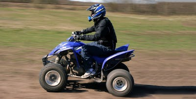 30 Minute or Hour Quad Biking Session for 1 Adult & up to 2 Youths, from £39