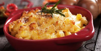 £19 for Mac 'n' Cheese + Wine & Dessert for 2
