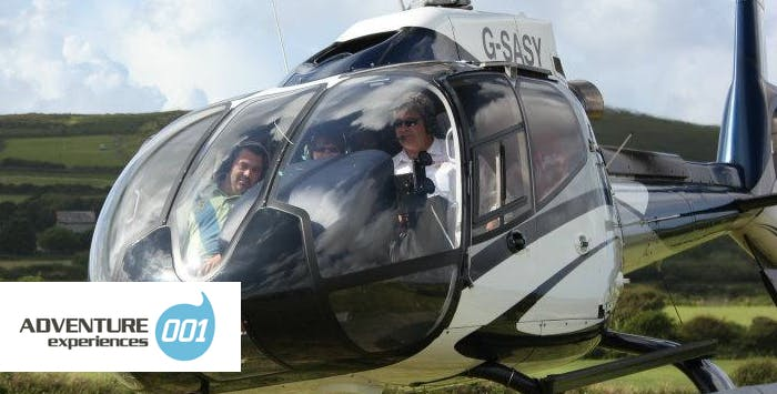 £49 for a Helicopter Flight, Concorde Experience + Cream Tea for 1