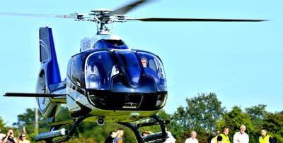 £79 for a 25 Mile Scottish City Helicopter Tour for 1