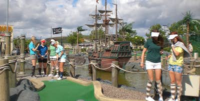 Round of Mini-Golf with Slushie or Visor + Arcade Credit for 2 or 4; from £11
