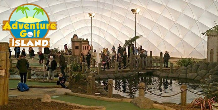 Round of Mini-Golf + Visor & Drink Each for 2 or 4; from £13