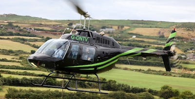 Helicopter Lesson or Aeroplane Land Away Double; from £99