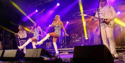 £22 for Entry to ABBA A-Rival Tribute Night with 2 Course Dinner for 1 on Saturday 28th September