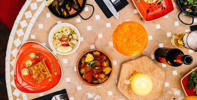 £28 for 4 Cocktails, 4 Tapas + Bread & Olives to Share between 2