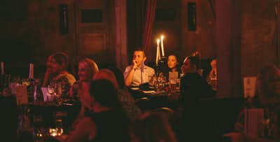 £20 for a Ticket for 1 to Comedy & Cabaret Evening with 2 Course Meal & Cava on Friday 6th September