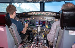 Flight Simulator Session