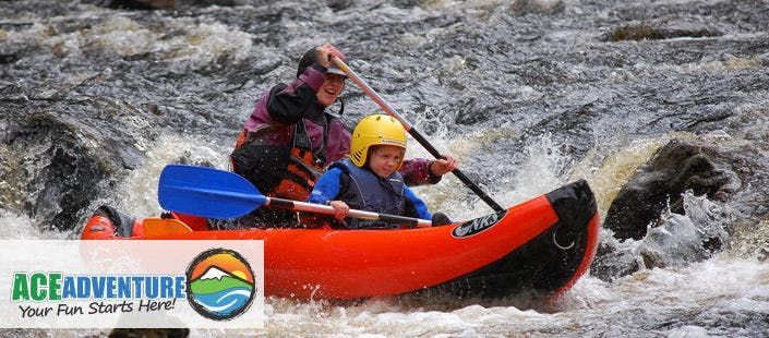 £35 for a Canoe + Kayak Experience