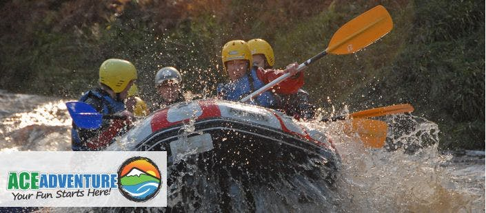 £35 for a White Water Rafting Experience