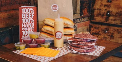 DIY Burger Kit for 3 or 6 Burgers for Collection from BRGR; from £15