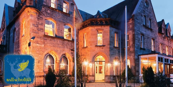 1 or 2 Night Stay with 2 Course Dinner for 2, from £69