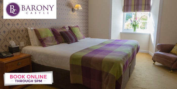 £109 for an Overnight B&B Stay with Dinner + Wine for 2