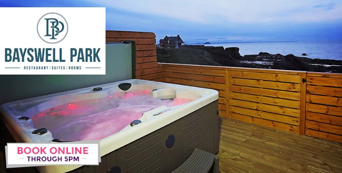 £149 for an Overnight Stay in Hot Tub Suite for 2