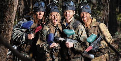 Go Bedlam Paintball Passes for up to 30 Players, from £7