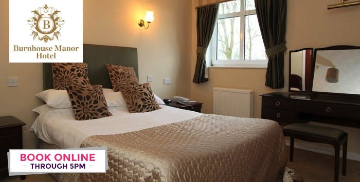 1 or 2 Night Stay with Dinner for 2, from £59