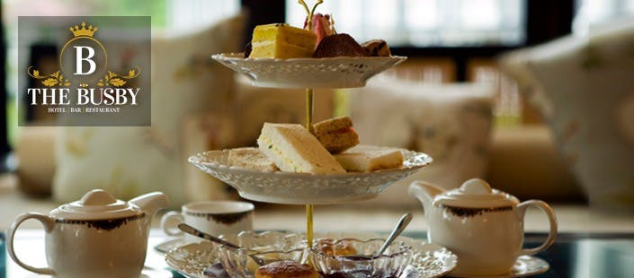 £16 for Afternoon Tea for 2