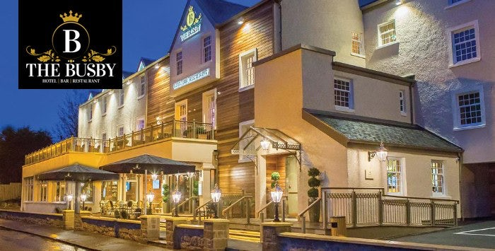 Overnight B Stay With Dinner Wine For 2 At The Busby Hotel Clarkston