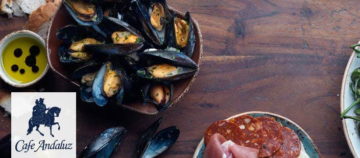 £20 for 5 Spanish Tapas + 2 Desserts to Share for 2