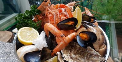 £15 for a Scottish Seafood Platter
