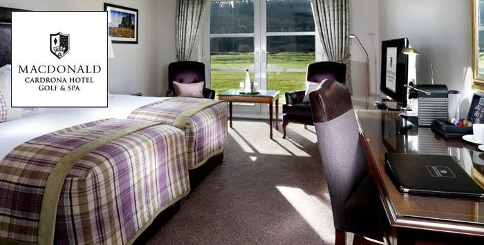 £119 for an Overnight Getaway + Dinner & Leisure Facilities for 2