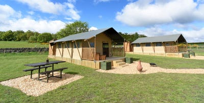2, 3 or 4 Night Luxury Safari Tent Stay for up to 5 People, from £169