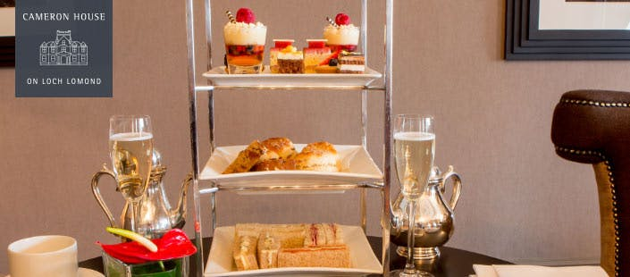 £129 for a Loch Lomond Cruise + Champagne Afternoon Tea for 2