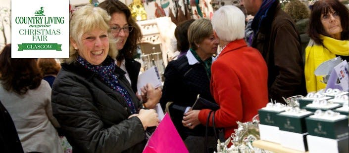 £11 for 2 x Day Tickets for Country Living Magazine Christmas Fair at SECC