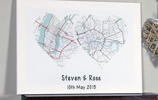 Personalised Map Canvas