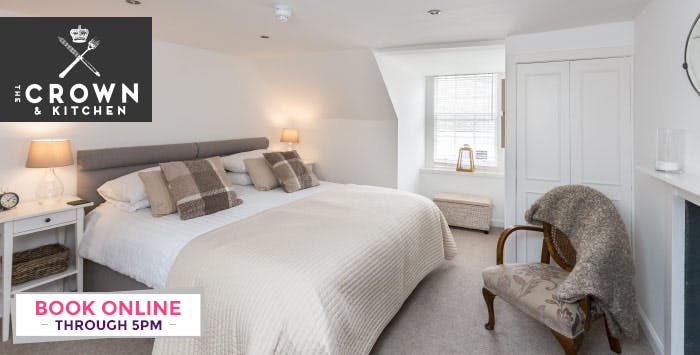 Overnight B&B Stay with Optional Dinner for 2, from £84