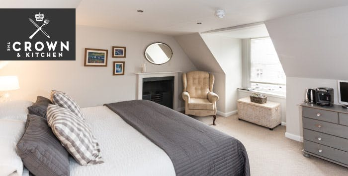 £99 for an Overnight B&B Break with Dinner for 2