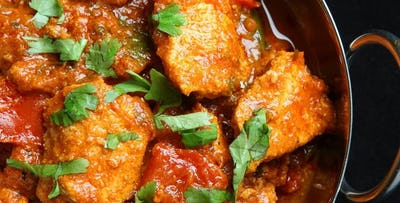 £9 for a Curry Dinner + Just Comedy Show Ticket on Thursdays for 1