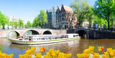 2 Night Newcastle to Amsterdam Mini Cruise in En-Suite Cabin for 2 or 4 with Optional Breakfast & Dinner One Way; from £79
