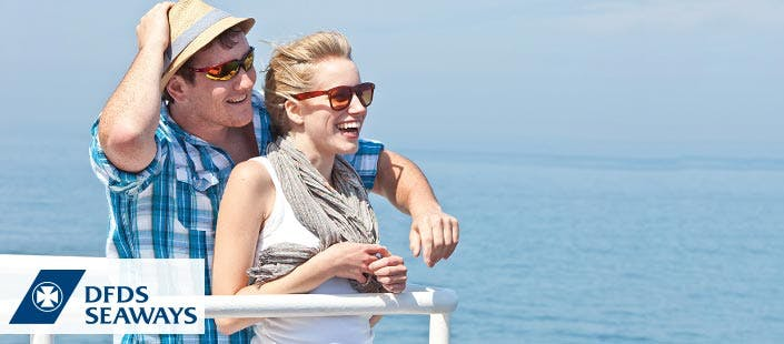 £85 per couple for a Newcastle to Amsterdam Mini Cruise
