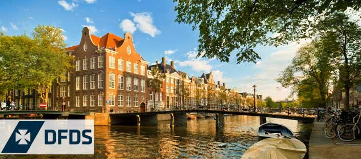 2 Night Newcastle to Amsterdam Mini Cruise in En-Suite Cabin for 2, from £89
