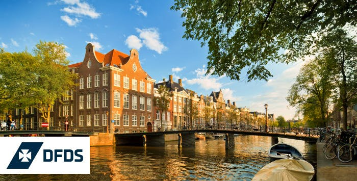 2 Night Newcastle to Amsterdam Mini Cruise in En-Suite Cabin for 2 or 4, from £69