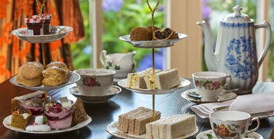 £49 for Champagne Afternoon Tea + Leisure Day Pass for 2