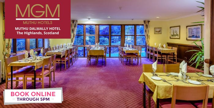 1, 2 or 3 Night Stay with Option of Dinner + Prosecco for 2, from £59