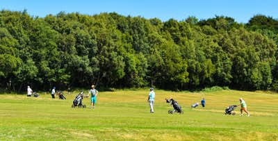 £29 for Burgers + Bunkers - Golf Day for 2