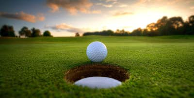 £30 for Burgers + Bunkers - Golf Day for 2