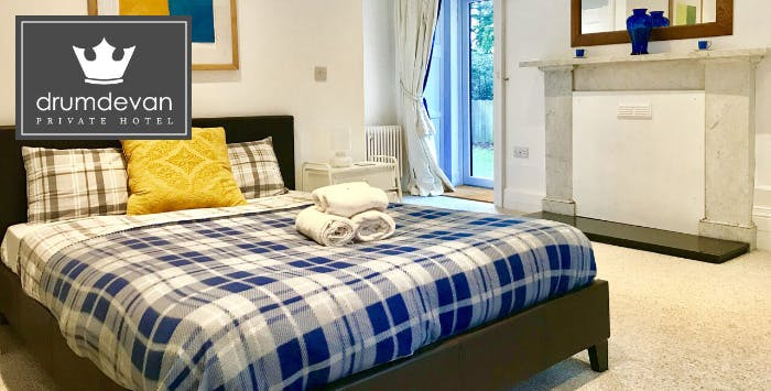 1 or 2 Night B&B Stay with Late Checkout for 2, from £49