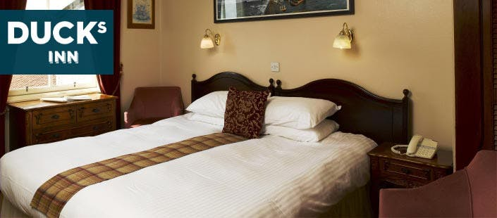 £69 for an Overnight Stay with Breakfast + Bottle of Sparkling Wine for 2