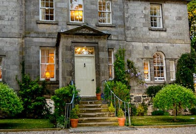 99 per couple for an overnight stay with dinner at for 16 royal terrace glasgow
