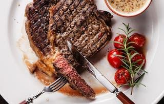 Steak, Sides & Wine for 2