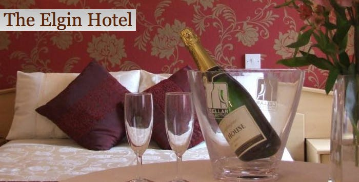 £69 for an Overnight B&B Stay + Bottle of Prosecco & Main Course Each for 2