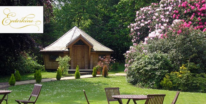£135 for an Overnight DB&B Break in Luxury Woodland Lodge for 2