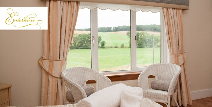 £95 for an Overnight Stay in Kirk House + 2 Course Dinner for 2