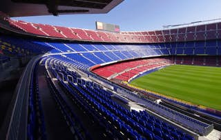 FC Barcelona at Nou Camp