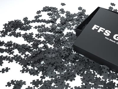 The Black Jigsaw Puzzle