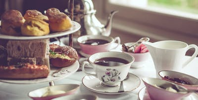 £18 for a Gin-Inspired Afternoon Tea with Hendrick's Gin + Tonic for 2