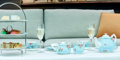Savoy Afternoon Tea for 2 or 4 People in the Atrium Lounge, from £32